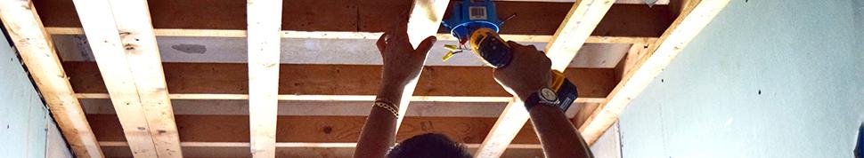 restaurering av tak innvendig